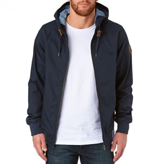 ELEMENT Dulcey Jacket eclipse navy blouson à capuche hommes