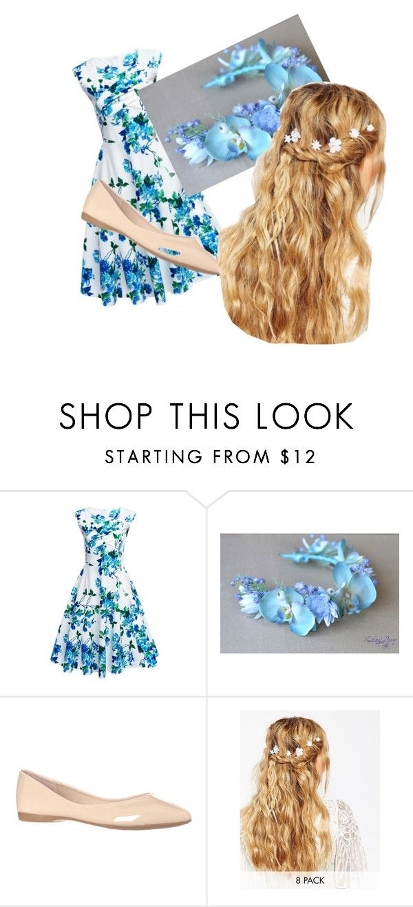 """Blue summery"" by almeon ❤ liked on Polyvore featuring beauty and ASOS"