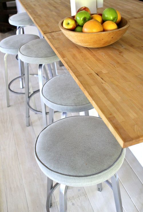 counter stools. i'm looking for the same details as design mom