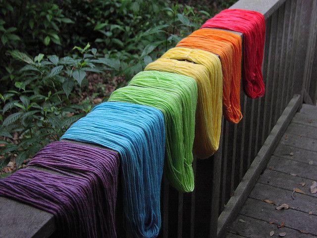 Rainbow Yarn Rainbow Colors Over The Rainbow Rainbow Connection