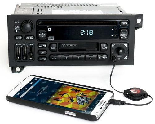 Chrysler Jeep Dodge Car Truck Radio 84-02 CD CS Aux Input in Face RAZ No SW Ctrl