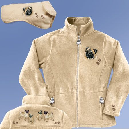 PUG BEIGE FLEECE - Bradford Exchange, Hamilton Collection, and Ashton Drake Collectibles