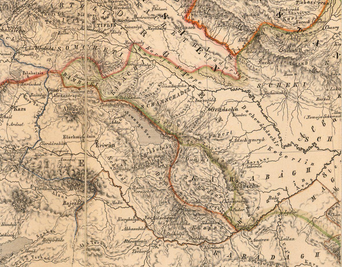 Artsakh Map ARTSAKHNAGORNO KARABAKHDISPUTED TERRITORYARMENIA