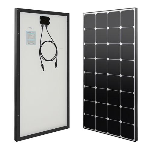 Eclipse 100 Watt 12 Volt Monocrystalline Solar Panel Monocrystalline Solar Panels Solar Panels Photovoltaic Panels