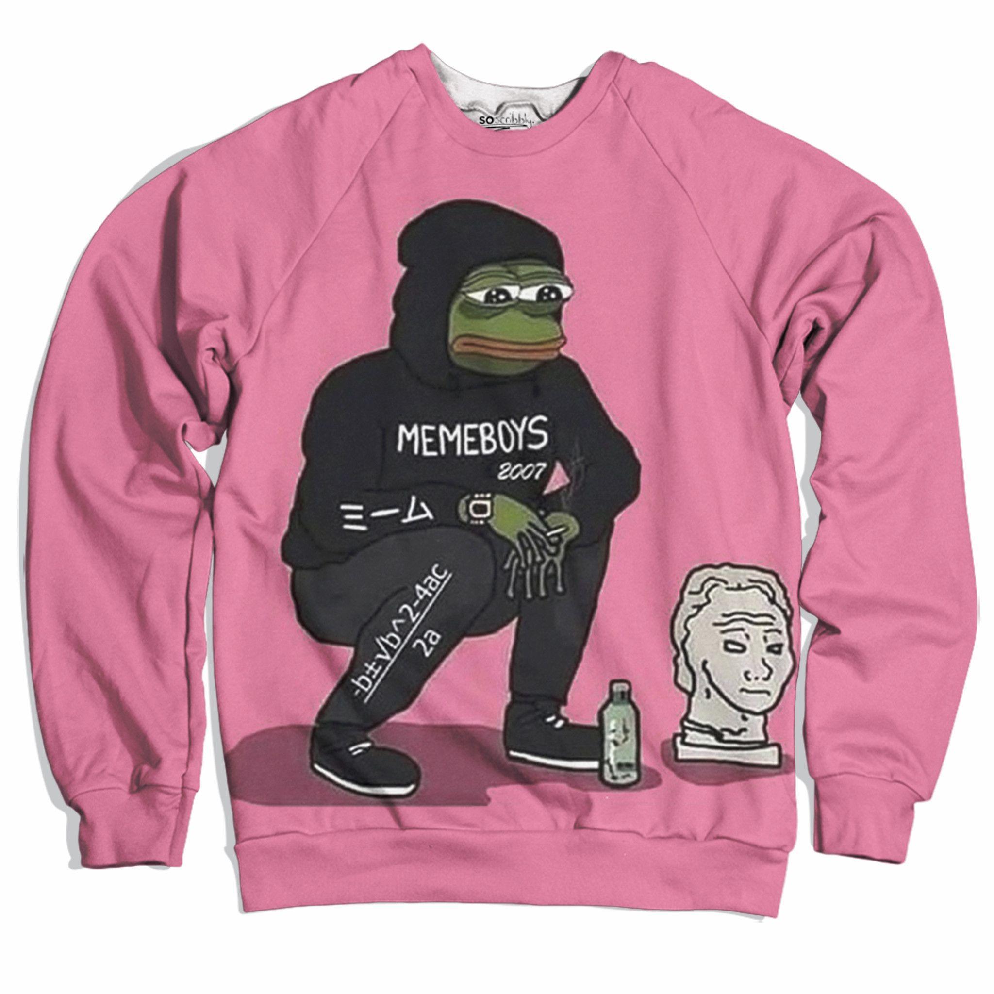 7722c94bdd Sad Meme Boys Sweater