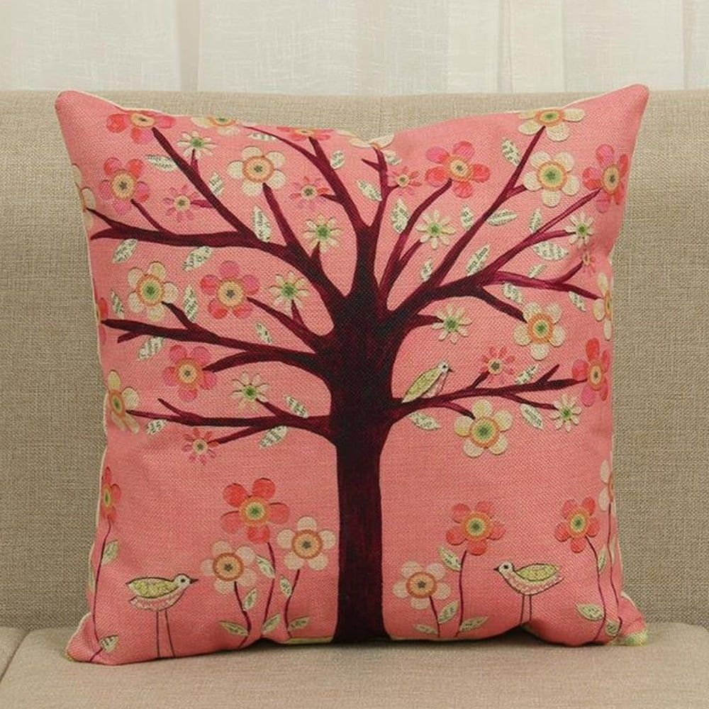 Cotton linen throw pillow cover cushion cover foundation x