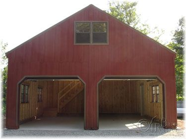 2 story double wide modular garages and sheds the barn for Garage building packages