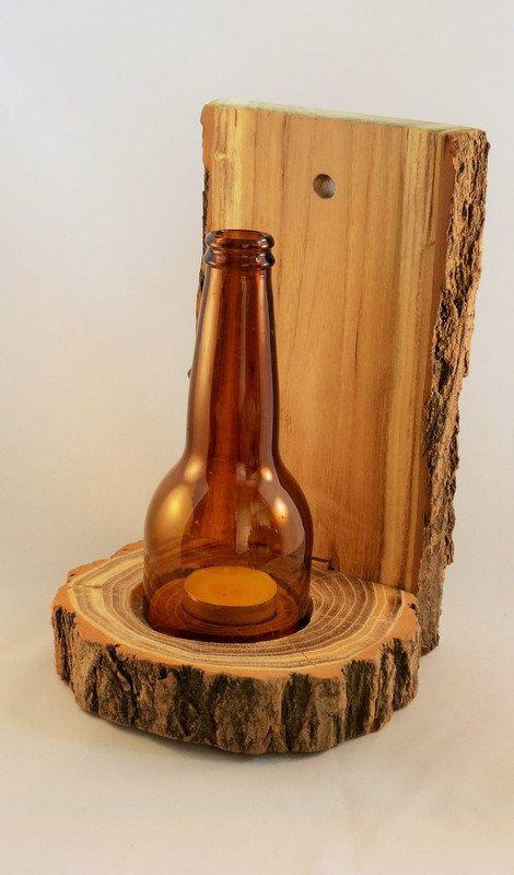 Handmade Wooden Candle Holder Natural Wooden By Jandmcraftcorner