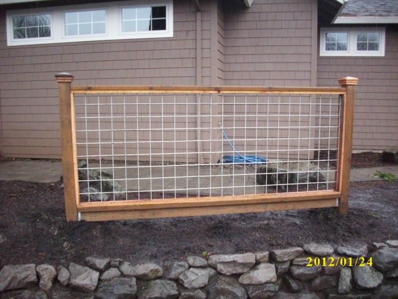 hog panel fencing - Google Search, example of one panel | Front Yard ...