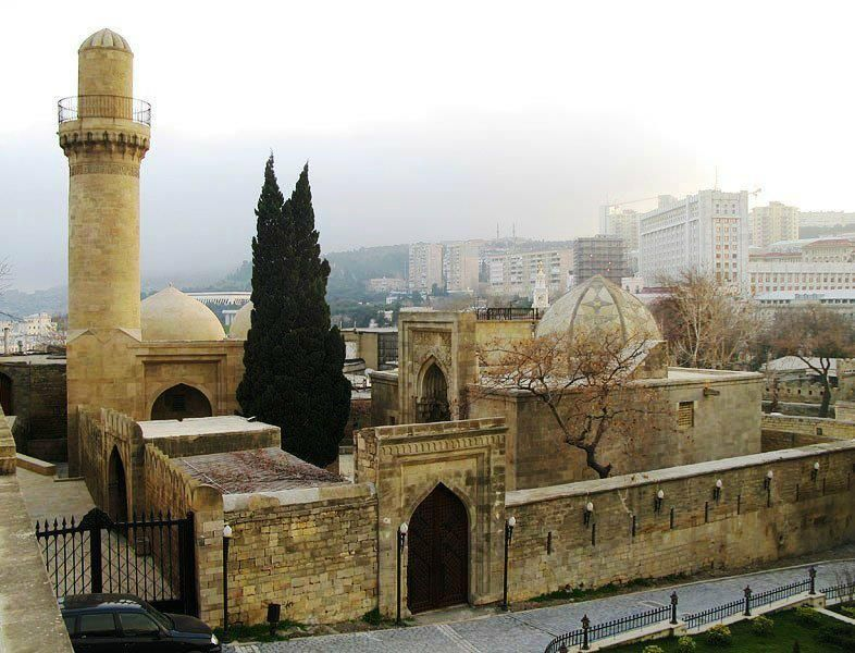 Palace Of The Shirvanshahs Baku City Baku Walled City