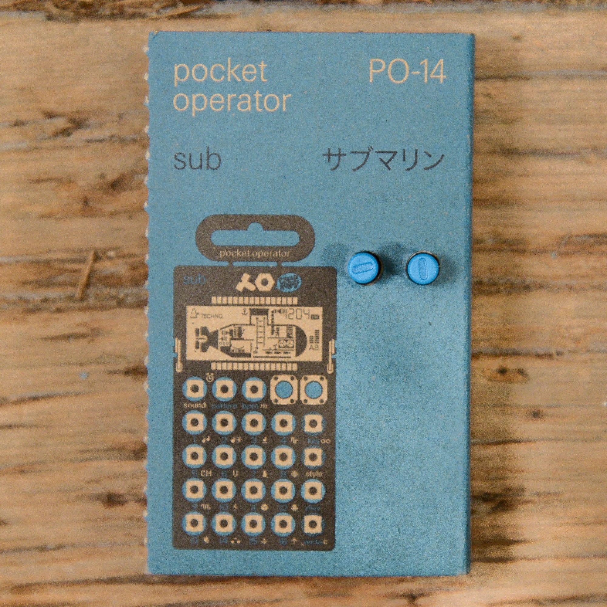 Teenage Engineering Pocket Operator PO-14 Sub USED