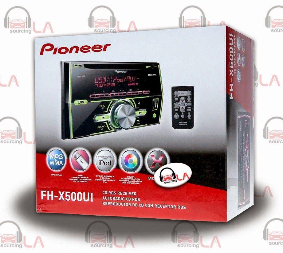 Sourcing-LA: Pioneer FHX500UI $129.99  Pioneer FHX500UI CD MP3 ...