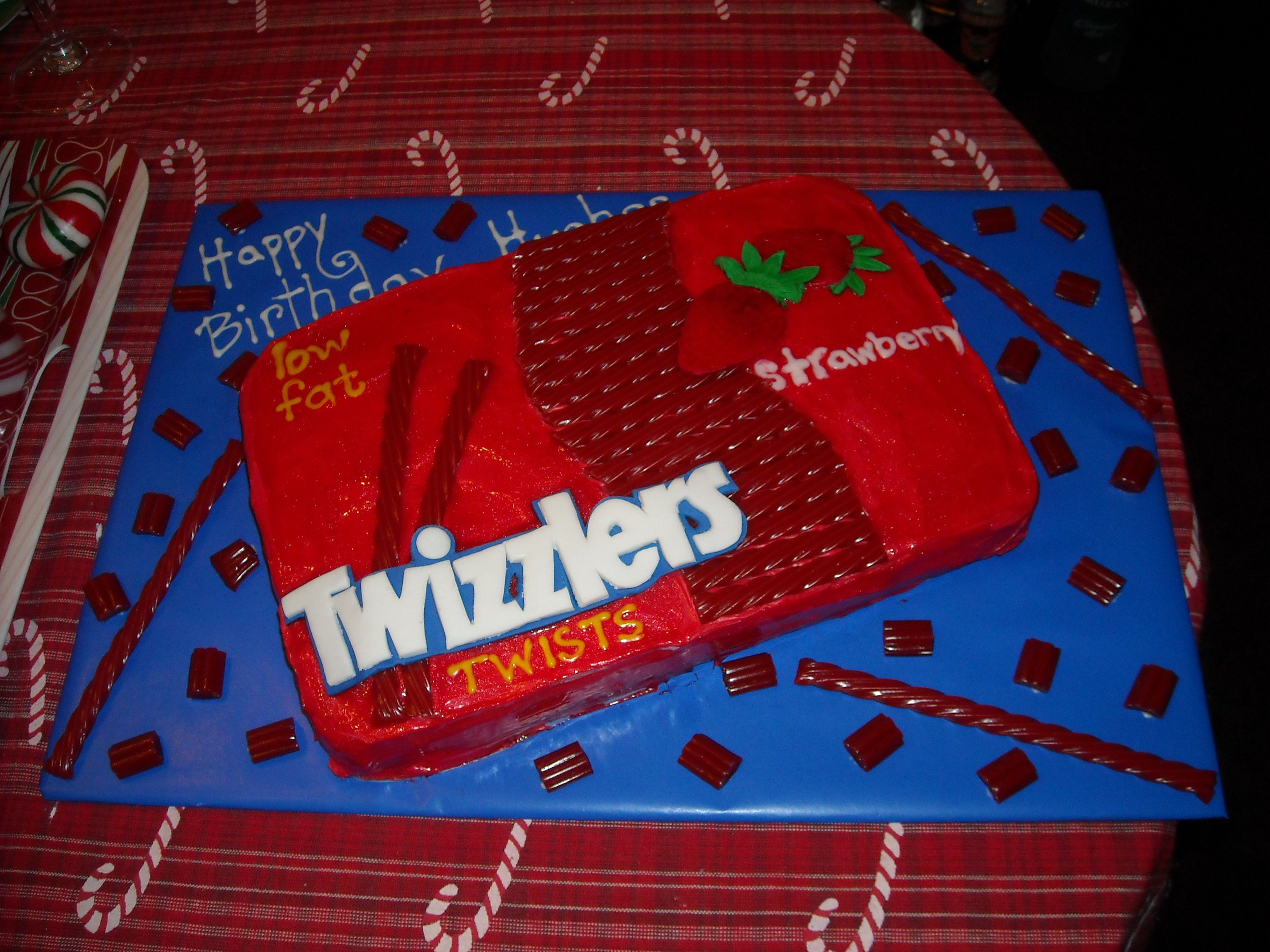 Twizzlers Birthday Cake For A Coworker Cakes Made By Me Highhill Homeschool Make Your Own Electrical Switch