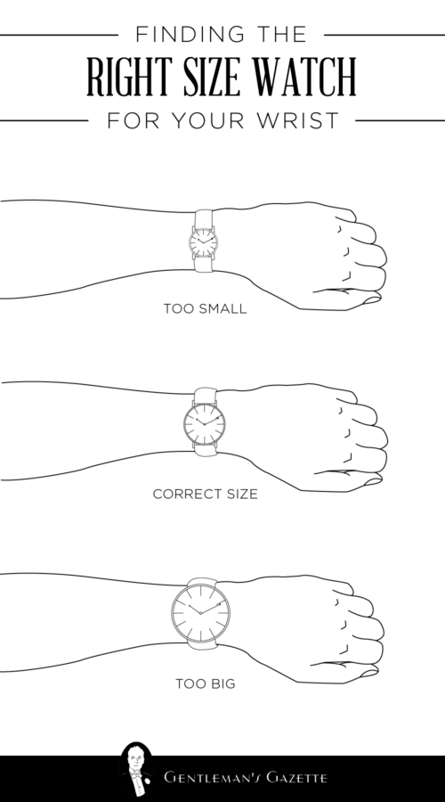 How To Find The Right Size Watch  Style And Fashion Tips