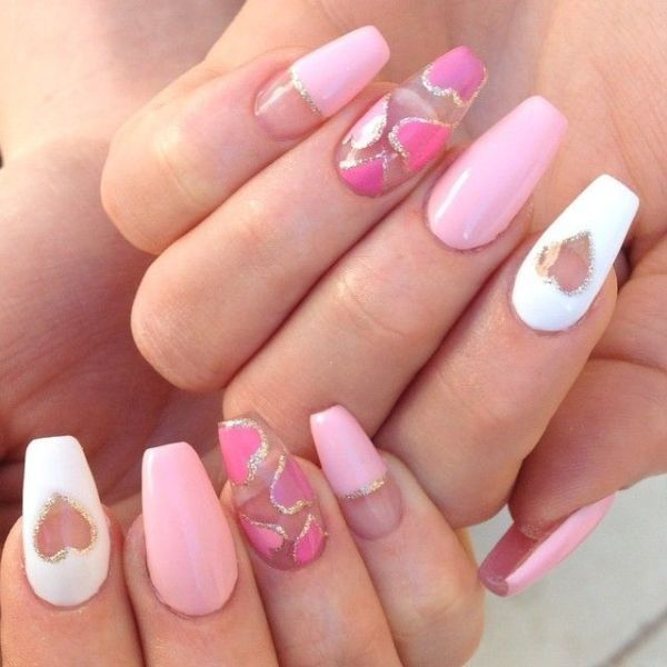 Valentines-Day-Nails-2017-41 50+ Lovely Valentine\'s Day Nail Art ...
