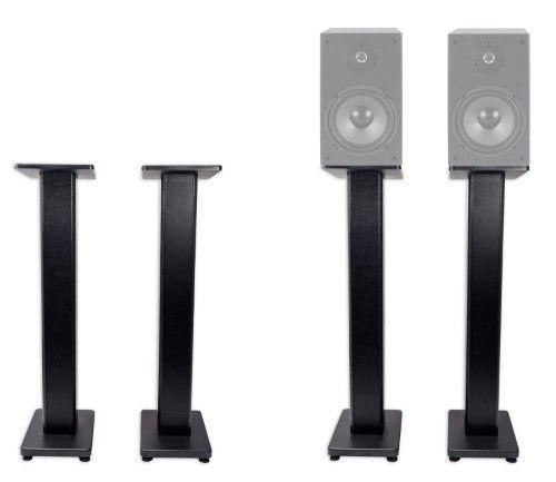"""pair 36"""" bookshelf speaker stands for dayton audio b652 6"""