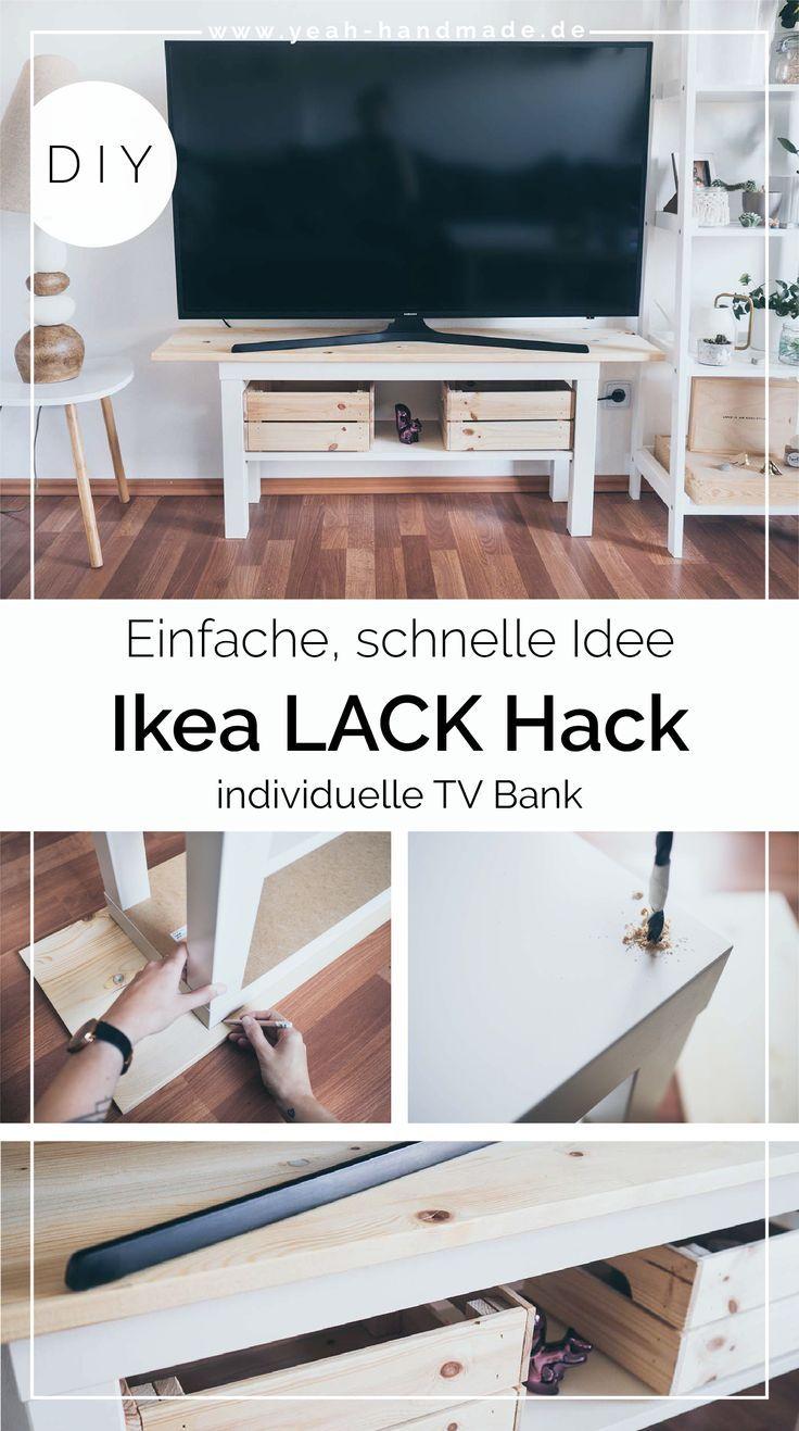 Diy Ikea Lack Hack Tv Bank Ikea Diy Ikea Mangel Und Ikea Hack