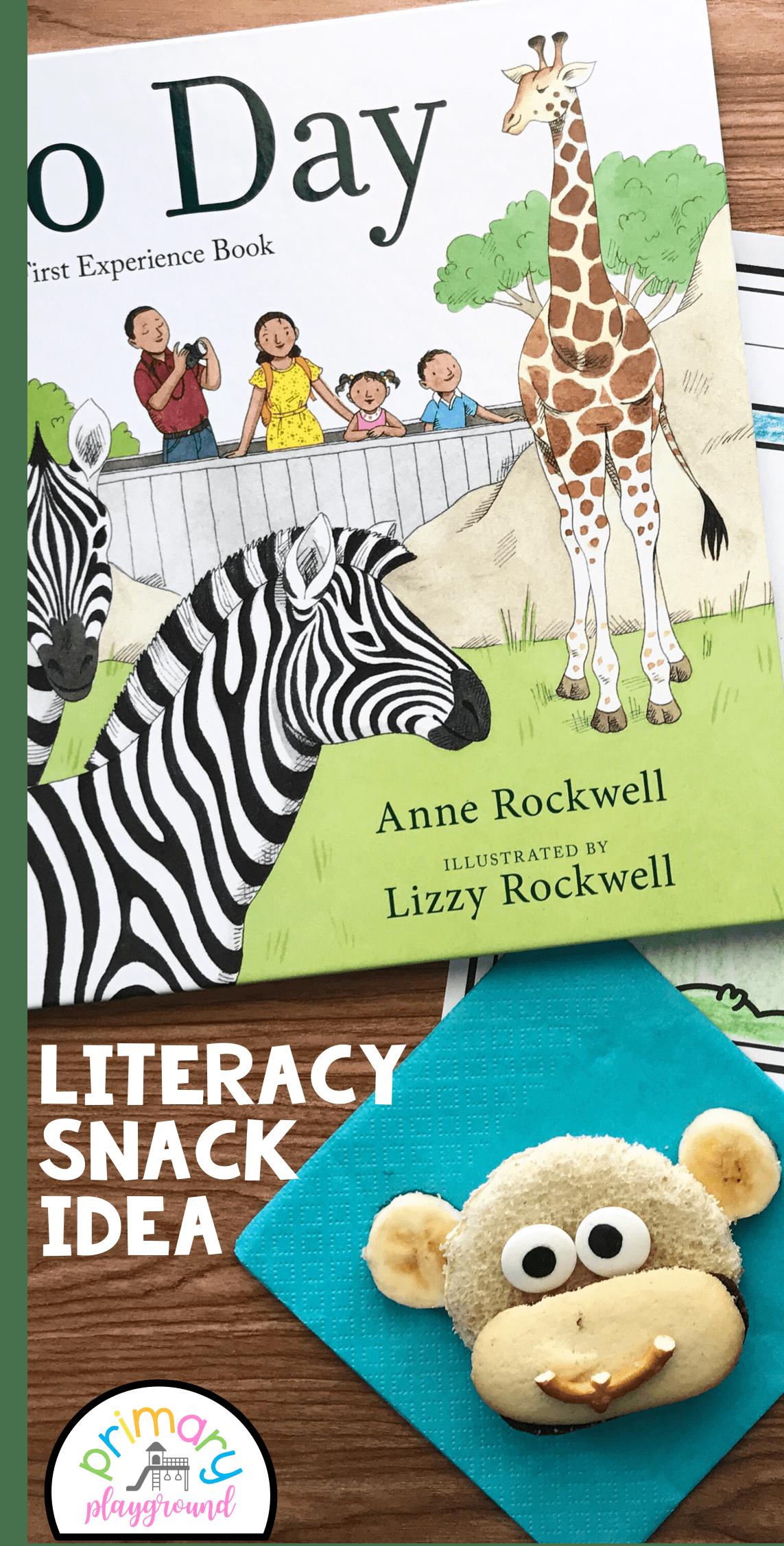 Literacy Snack Idea Zoo Free Printable