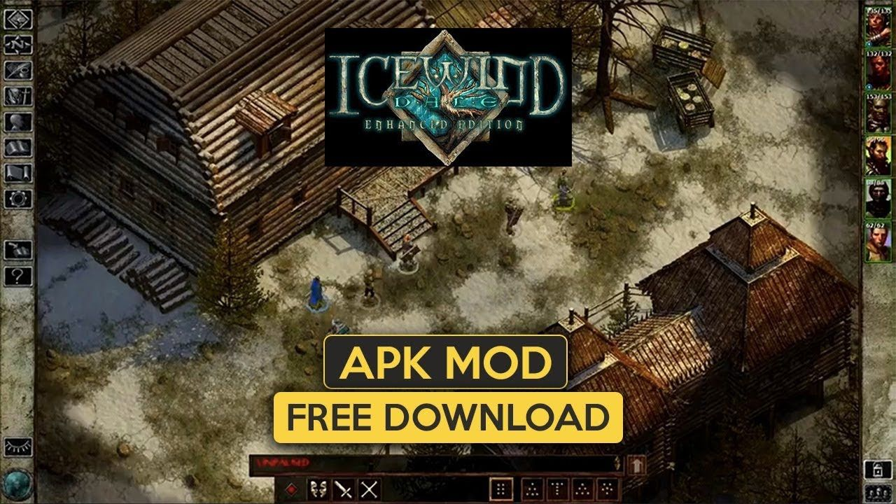 Icewind Dale Enhanced Edition Apk OBB for Android free