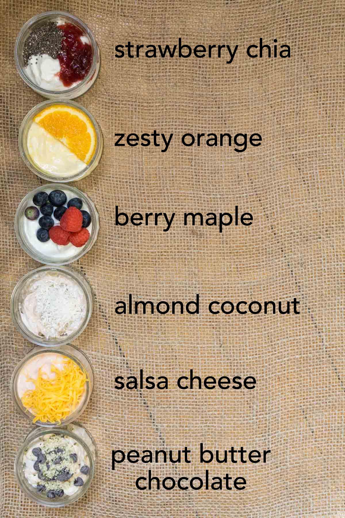 Stop buying yogurt chockfull of sugar! Try these 6 ways to flavour plain yogurt instead.