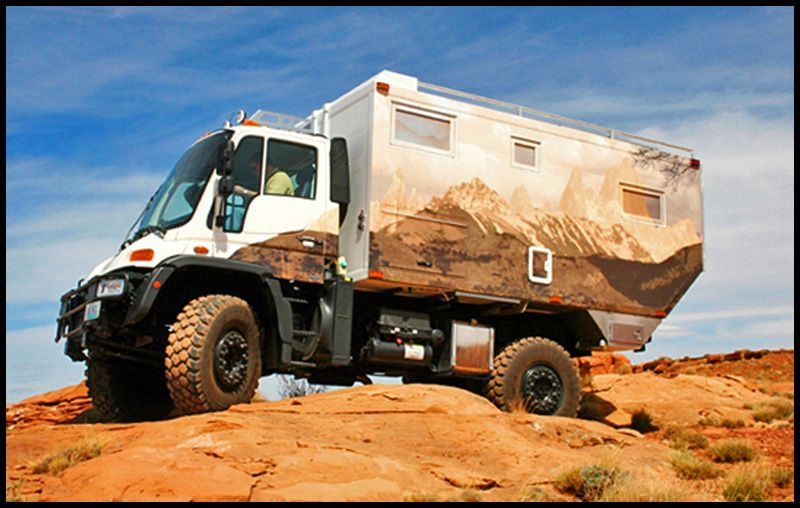 Safari Extreme on Unimog U-500 | Global Expedition Vehicles