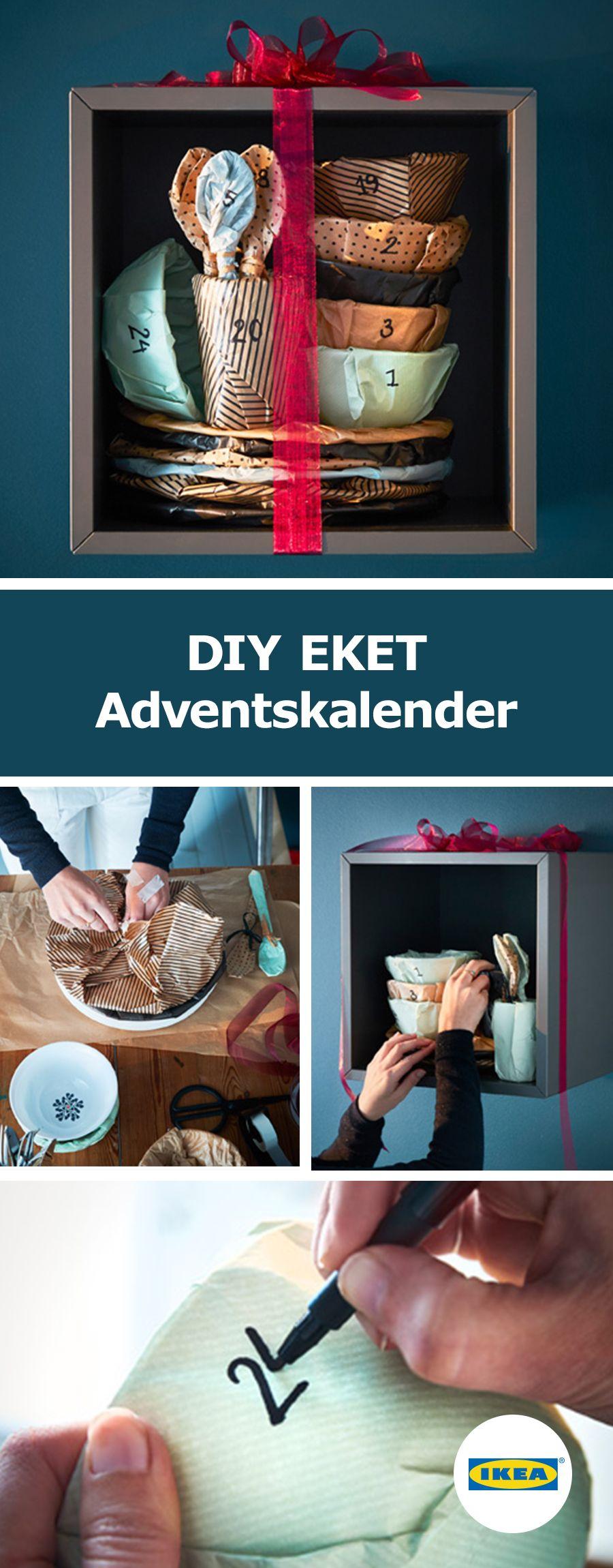 ikea deutschland wie w re es mit einem adventskalender mit aussicht auf leckere gen sse hier. Black Bedroom Furniture Sets. Home Design Ideas