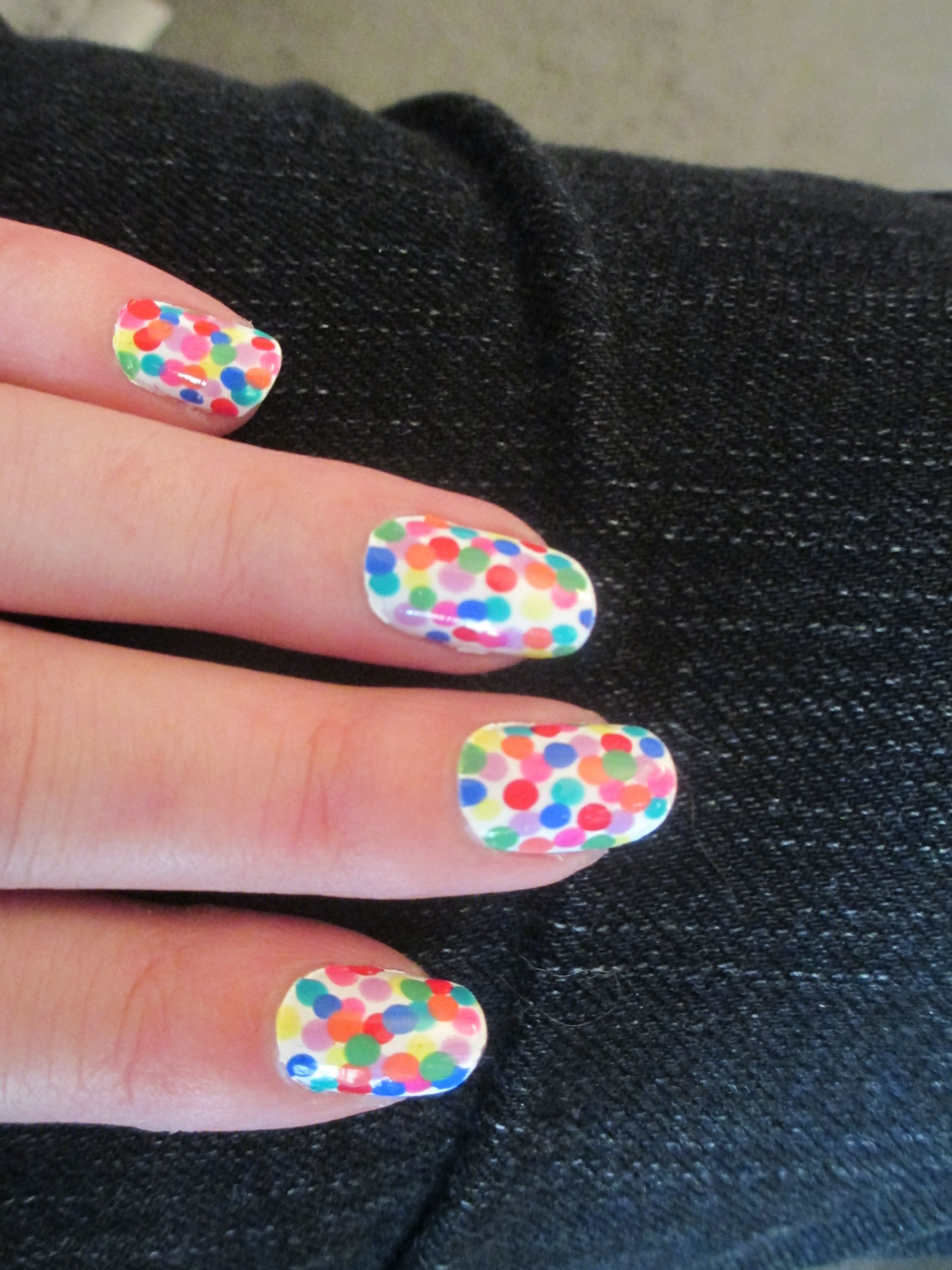 Polka dots!  (Apr. 20, 2013)