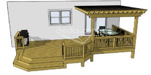 Free standing decks that are not attached to the house with a free standing decks that are not attached to the house with a ledger board will require ccuart Images