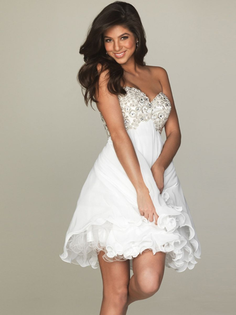3ed70ccdb67 Short Semi-Formal Dress By For A Stand Out Look At Prom Or Special Occasion  Party Dress