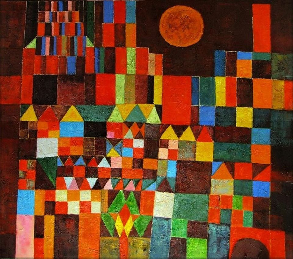 Castle and sun, 1928 / Klee