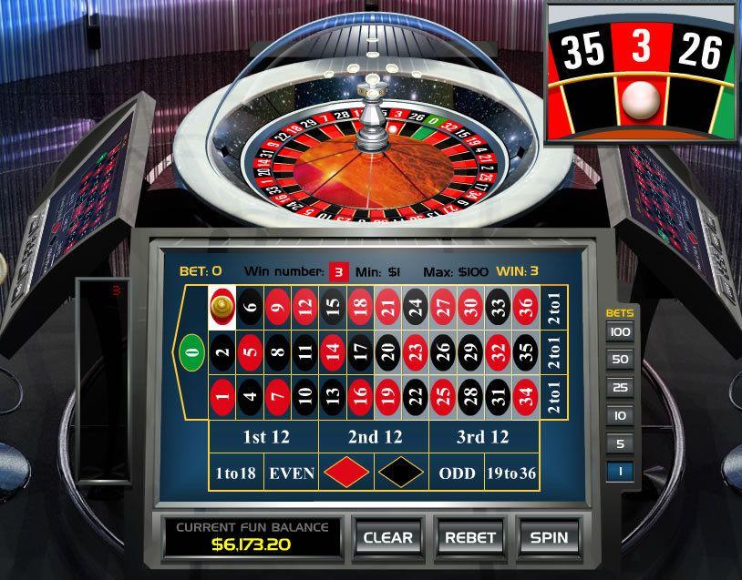 Electronic roulette treasure island casino jackpot
