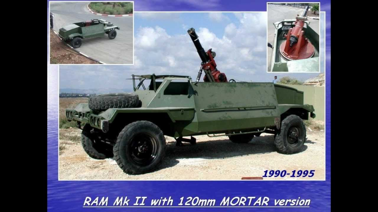IAI RAM 2000 MK3 light vehicle variants Armored vehicles