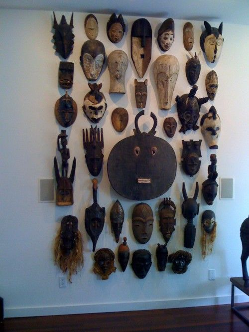 African Mask Decor African Masks  Awesome Collectionneed To Get Back On This