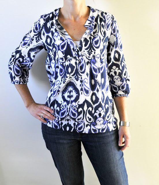 Wiksten Tova Sewing Pdf Pattern Grace Designs Sizes Xs Xl Http