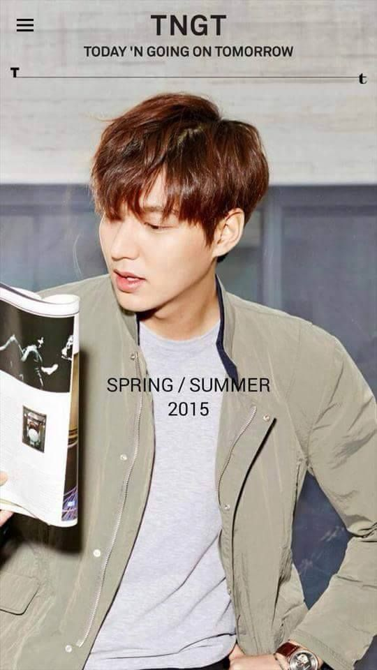 Lee Min Ho for TNGT.