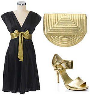 Complementos Para Vestido Negro Corto