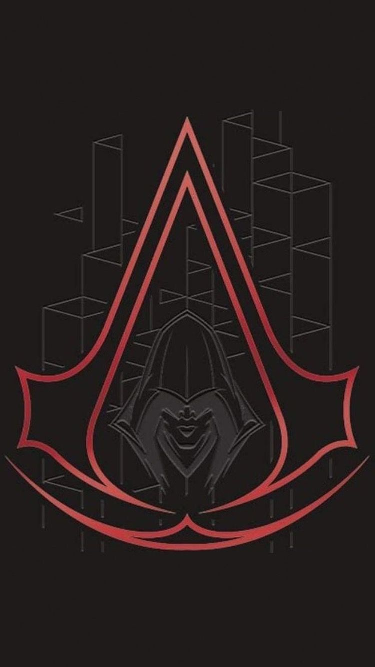 assassins creed logo wallpaper phone