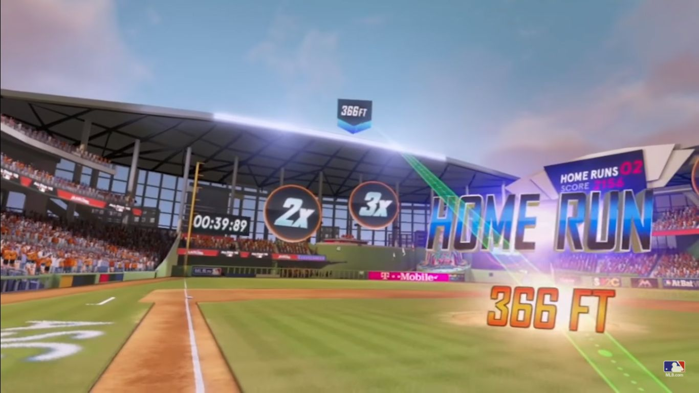 Mlb Home Run Derby Vr Game To Land On Psvr And Vive This Spring Major League Baseball S Home Run Derby Vr Will Le Homerun Major League Baseball Baseball