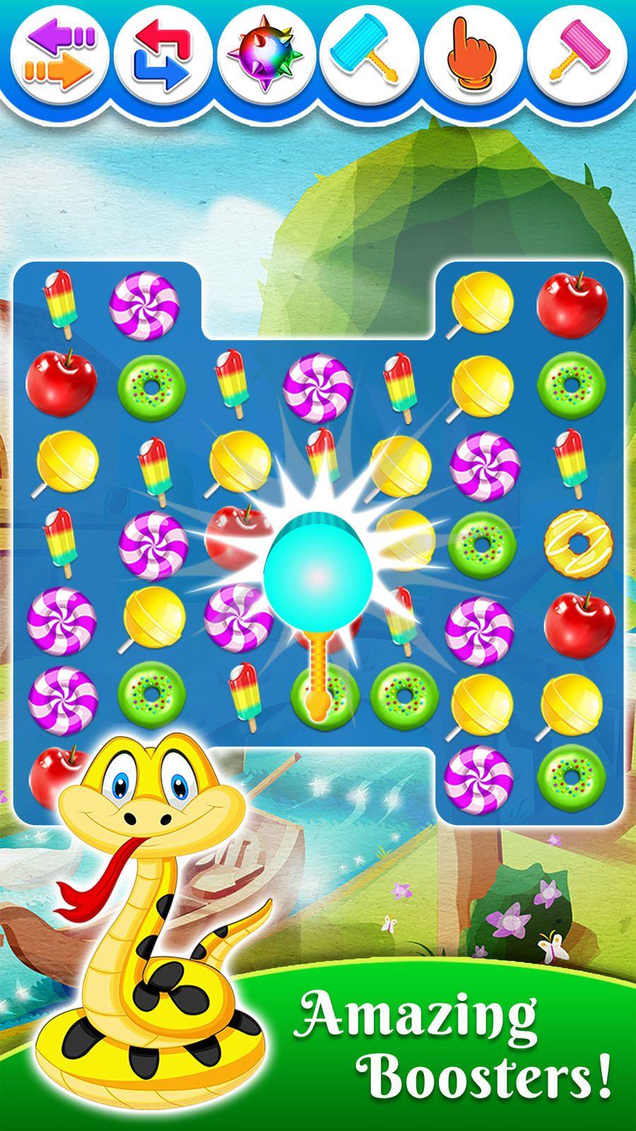 Food SplashFree Candy Matching Puzzle Game thinkingGame