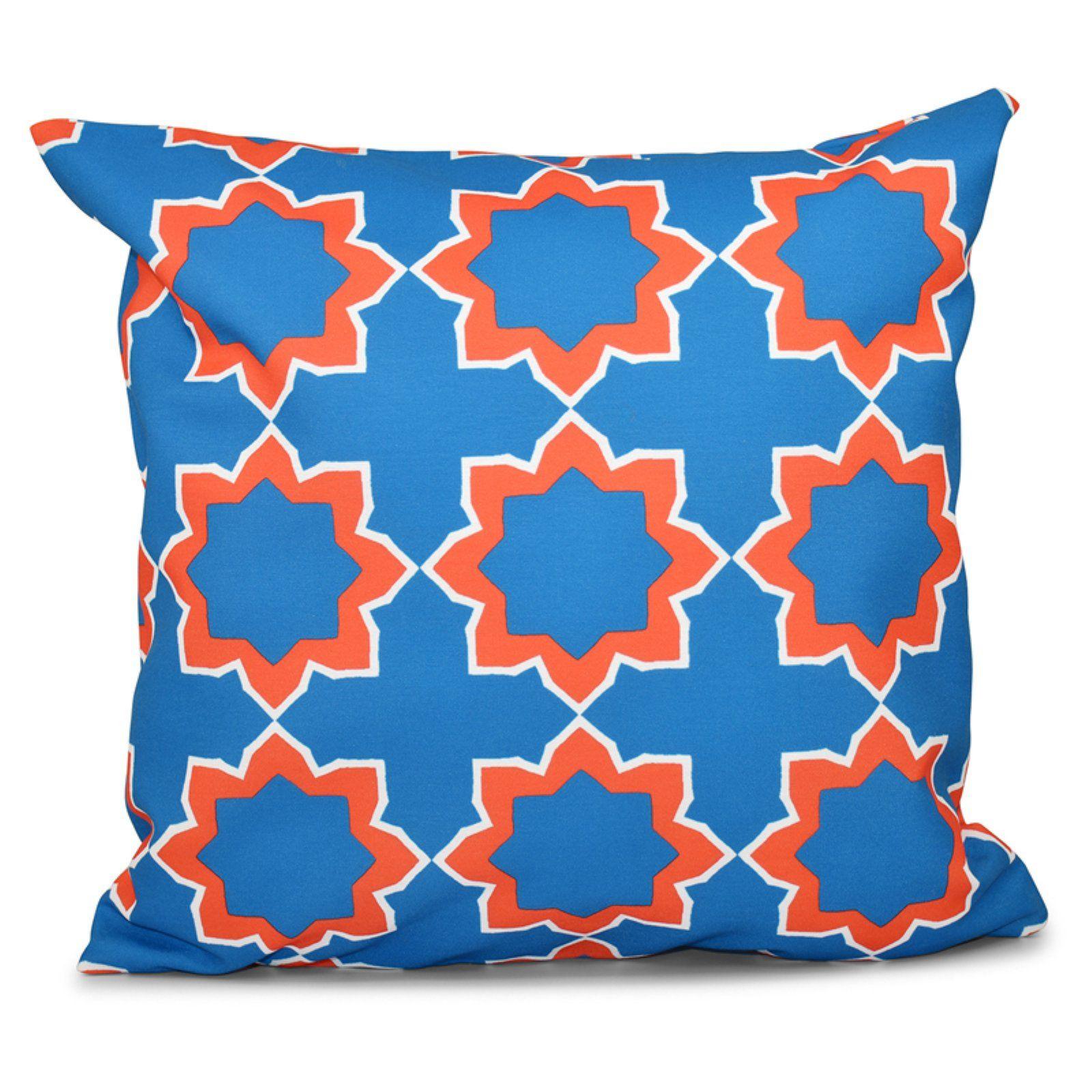 E by Design Happy Hippy Bohemian 2 Decorative Pillow
