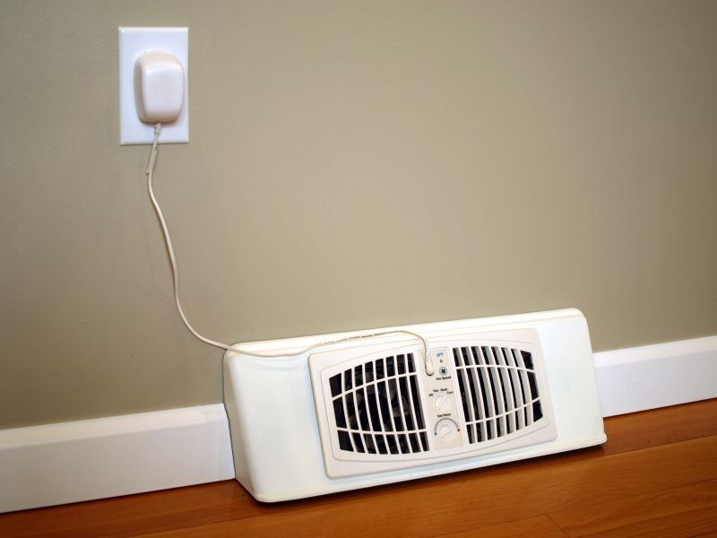 Airflow Breeze Booster Fan For Baseboard Units With Images