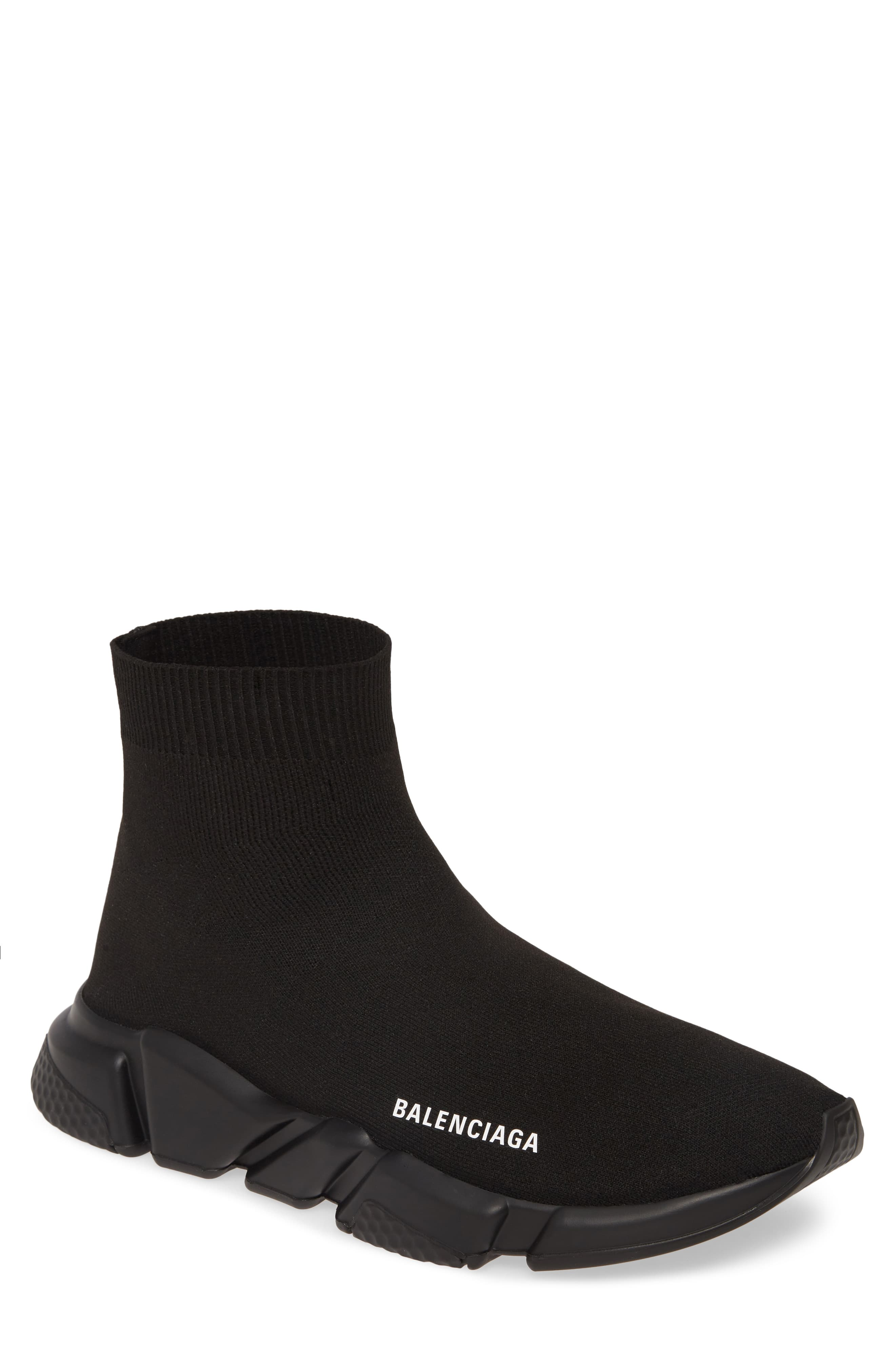 Balenciaga Speed High Slip-On (Men in