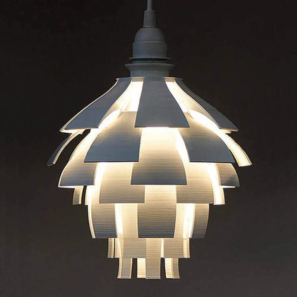 25 Stylish 3d Printed Lamp Shades To Diy All3dp Artichoke Lamp Diy Lamp Shade Lamp