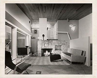 Citation: The House In The Museum Garden, Living Room, Museum Of Modern Art