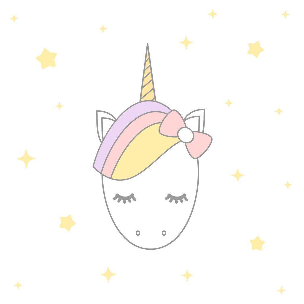 Ilustración de unicornio de brillo. mano de dibujos animados dibujar  personaje de monstruo para la camiseta de impresión. Vector Premium  a4e9644b656f7
