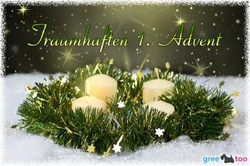Kostenlose 1.Advent Bilder, Gifs, Grafiken, Cliparts, Anigifs, Images, Animationen #1adventbilder