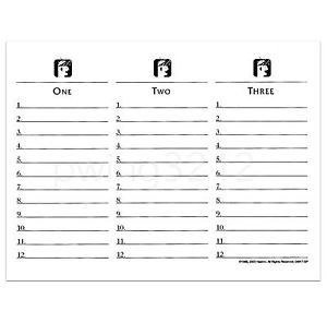 graphic regarding Printable Scattergories named Pin as a result of Skye upon Paper Crafts and Printables Scattergories