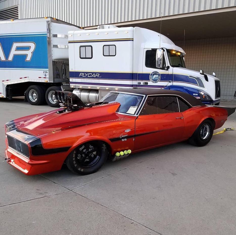 Jim Howe Jr S Blown Camaro Ss At Brainerd Motorsports Park 67 68