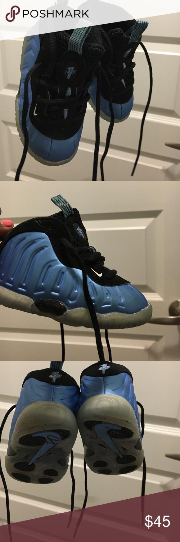 e76ca87681d7 University blue (KIDS) FOAMPOSITES Nike Air Foamposite One
