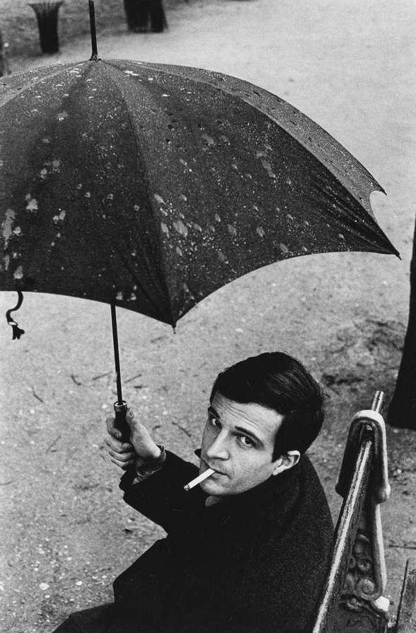 Director François Truffaut, one of the founders of the French New Wave